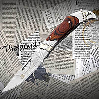 Нож складной Columbia 192 с удобной рукоятью и острым лезвием. Подходит для туризма, кемпинга, рыбалки, охоты