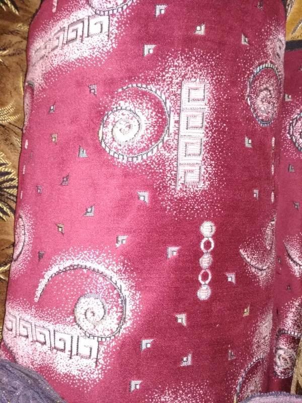 Шпигель (ковровка) Бордовый