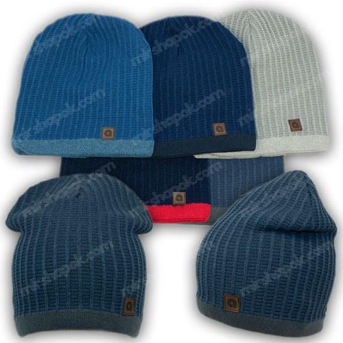Молодежные шапки для мальчика, р. 48-50