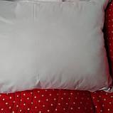 Подушка антиаллергенная 50 х 70 искусственный лебединый пух, фото 3