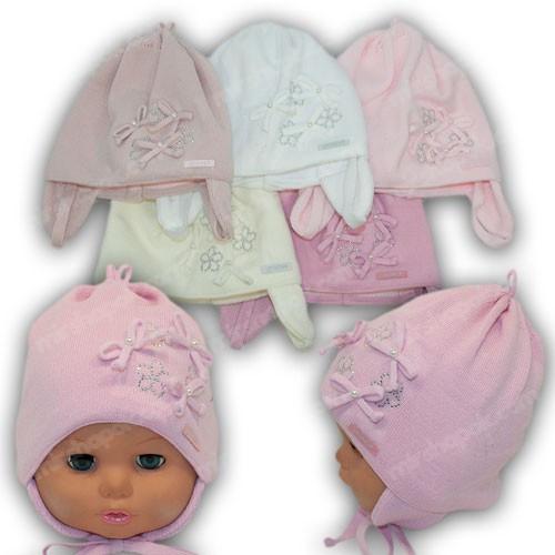 Детские шапки для новорожденных, р. 40-42