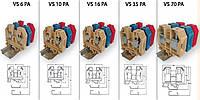 Клемма винтовая VS 16 PA  (16 mm2_бежевая)