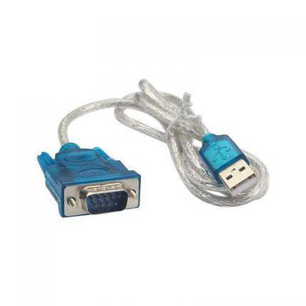 Кабель адаптер-перехідник USB-RS232 COM DB9 HLV 10 шт, фото 2