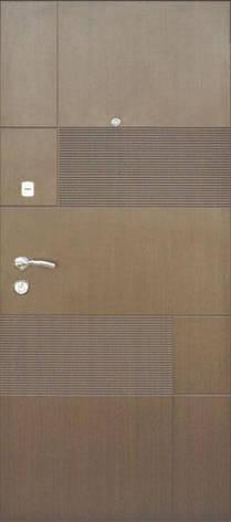 Двери квартирные, модель 153 Комфорт 970*2050, 3 контура уплотнения, коробка 110мм, KALE, фото 2