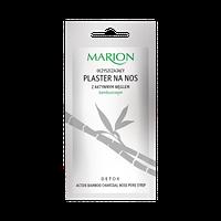 Очищающий патч для носа с углем 1 шт  Marion