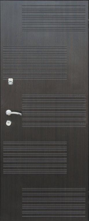 Двері квартирні, модель 154 Комфорт 970*2050, коробка 110 мм, KALE, 3 контури ущільнення