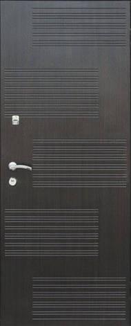 Двері квартирні, модель 154 Комфорт 970*2050, коробка 110 мм, KALE, 3 контури ущільнення, фото 2
