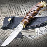 """Нож туристический эксклюзивный Спутник """"Бизон"""" для охоты, рыбалки и туризма"""