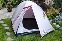 Палатка JY 1506 2- местная двухслойная, туристическая с вентиляционным клапаном.