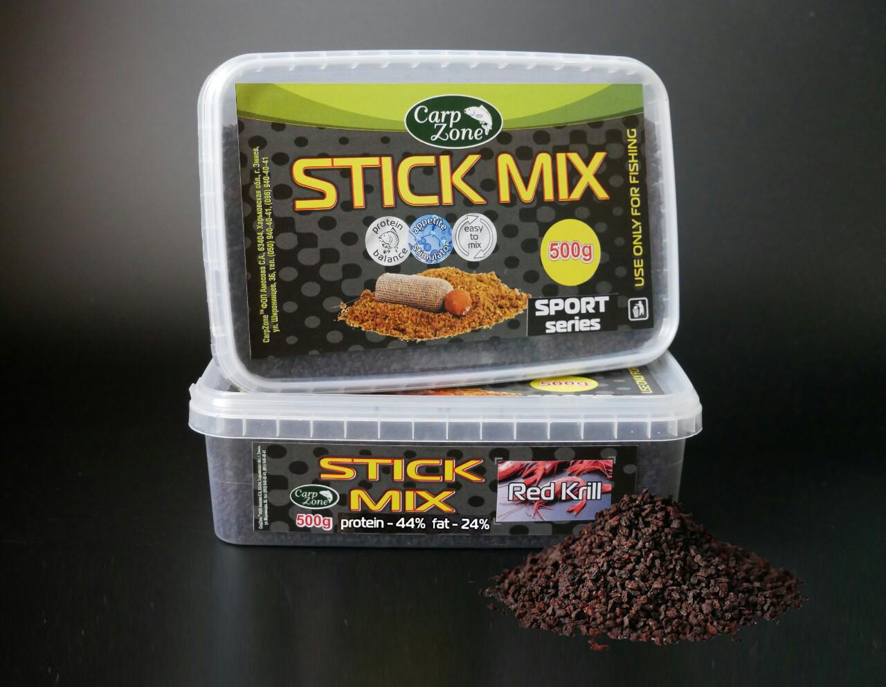 Стик Микс Stick Mix SPORT series Red Кrill (Красная Креветка) 500g