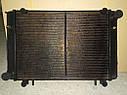 Радиатор для Газель со штырями 3 рядный медный пр-во Иран Радиатор, фото 4
