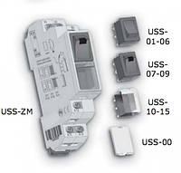 Выключатель с лампочой тлеющего разряда (зеленый) USS-08 10A