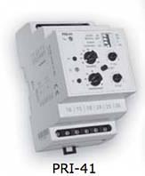 Двухуровневое реле контроля тока PRI-41 24V AC/DC (3 диапазона) (2x16A_AC1)
