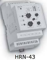 Реле контроля напряжения HRN-43 110V AC (3F, 2x16A_AC1) без нейтрали