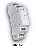 """Импульсное реле с функцией """"память"""" MR-42 UNI  12-240V AC/DC (2x16A_AC1)"""