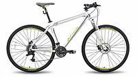 """Велосипед 26'' PRIDE XC-26 MD рама - 19"""" бело-зеленый матовый 2015"""