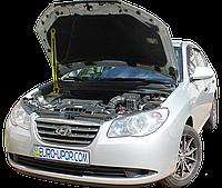 Газовый упор капота (амортизатор капота) для Hyundai Elantra 4 HD / Хёнде Элантра 4