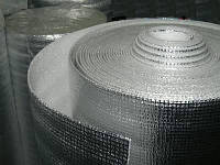 Полотно ППЭ 10мм*1м*50м IZOFLEX без покрытия. Листовой (рулонный) полиэтилен вспененный (пенополиэтилен)