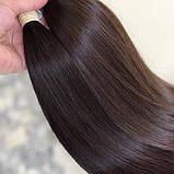 Волосся натуральні слов'янські 55 см номер 2, фото 2