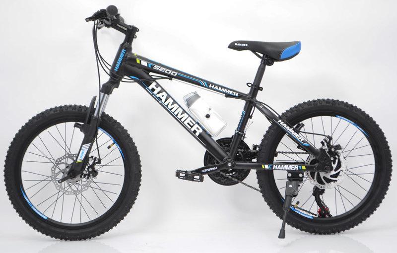 Горный подростковый велосипед S200 HAMMER Колёса 20 дюймов Рама 12  Япония Shimano