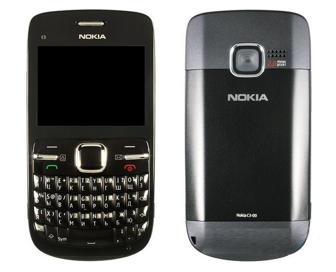 Мобильный телефон Nokia C3-00 Slate Grey