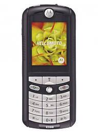 Мобильный телефон Motorola e398 Soft Touch Black