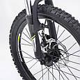 """Горный Подростковый велосипед """"S200 HAMMER"""" Колёса 20''х2,25, Рама 12''  Япония Shimano. Зеленый, фото 5"""