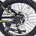 """Горный Подростковый велосипед """"S200 HAMMER"""" Колёса 20''х2,25, Рама 12''  Япония Shimano. Зеленый, фото 6"""