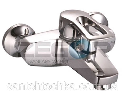 Смеситель для ванны Zegor SHY - А 181 Ф40 короткий излив, фото 2