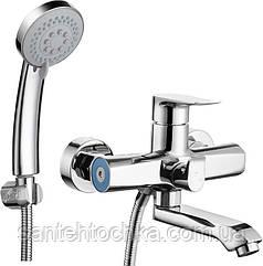 Смеситель для ванной TROYA FOB3-A134 короткий излив