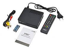 Тюнер цифровий DVB-T2 ICM UKC 7820 YouTube з можливістю підключити Wi-Fi, фото 2