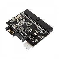Переходник адаптер двусторонний SATA IDE 100/133 HLV