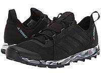 Кроссовки/Кеды (Оригинал) adidas Outdoor Terrex Speed Black/Black/Ash Grey, фото 1