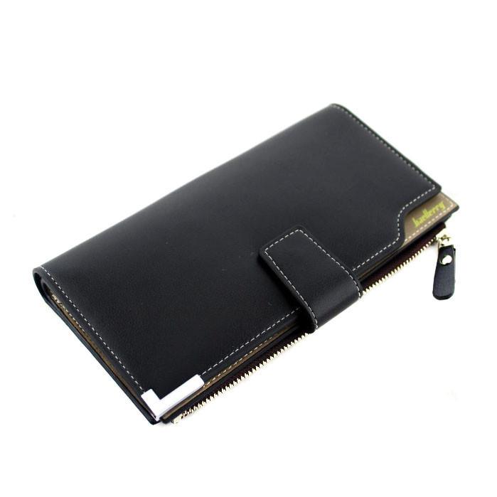 Портмоне гаманець чоловічий Baellerry C1283 Black