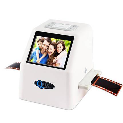 Слайд сканер фотоплівки слайдів негативів QPIX DIGITAL FS610, фото 2