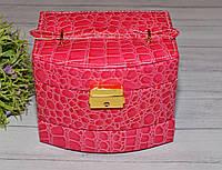 Розовая шкатулка для бижутерии, фото 1