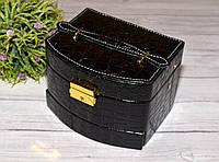 Черная шкатулка для бижутерии, фото 1