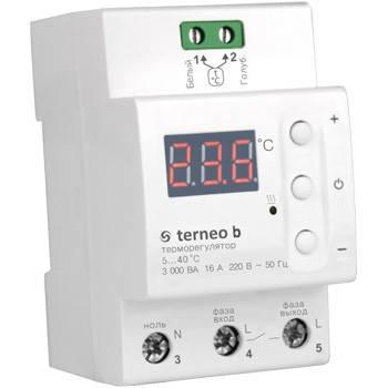 Терморегулятор цифровой Terneo b, фото 2