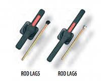 Выносная рукоятка ROD LAG 6 (черная) для LAG 6 и LAG 6/S