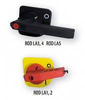 Рукоятка для LA3/LA4 на дверцу шкафа (черная)