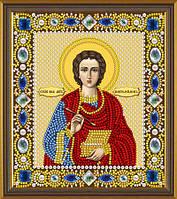 Набор для вышивки бисером Св. Вмч. Целитель Пантелеимон Д 6021