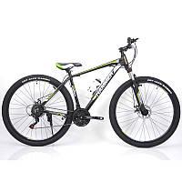 Горрный Велосипед HAMMER-29 Black Green Найнер