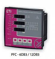 PFC-6DA - регулятор реактивной мощности, 6 ступеней, 96x96, (400V)