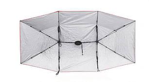 Зонт тент автомобильный HLV Umbrella 4х2.1 м Silver, фото 2