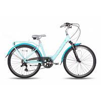 "Велосипед 26"" PRIDE COMFORT рама - 18"" синий глянцевый 2015"