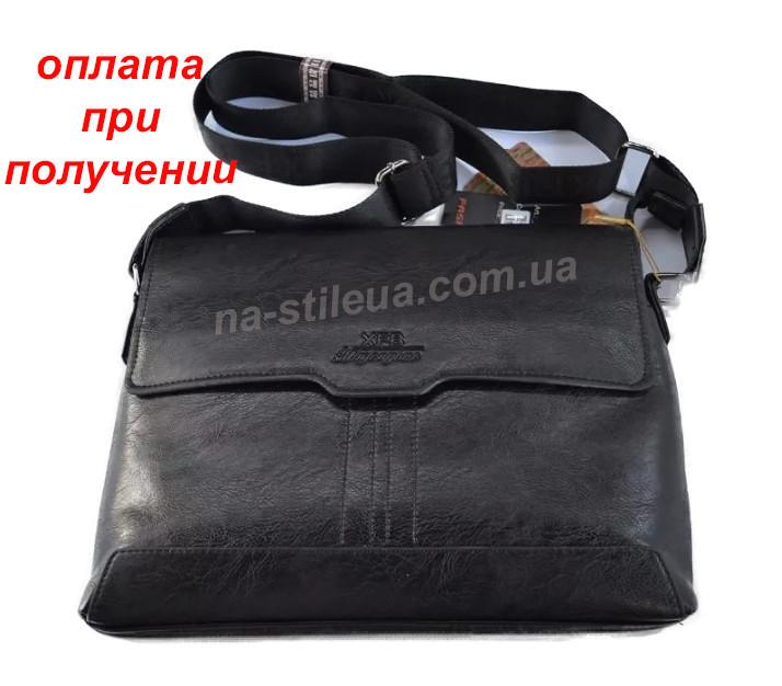 a7ccd7992bb0 Мужская кожаная брендовая сумка через плечо для документов А4 портфель POLO  - На Стиле в Бердянске