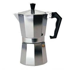 Гейзерная кофеварка 300 мл 6 чашек A-plus CM-2082