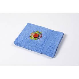 Полотенце кухонное Lotus Sun - Apple голубой 40*70
