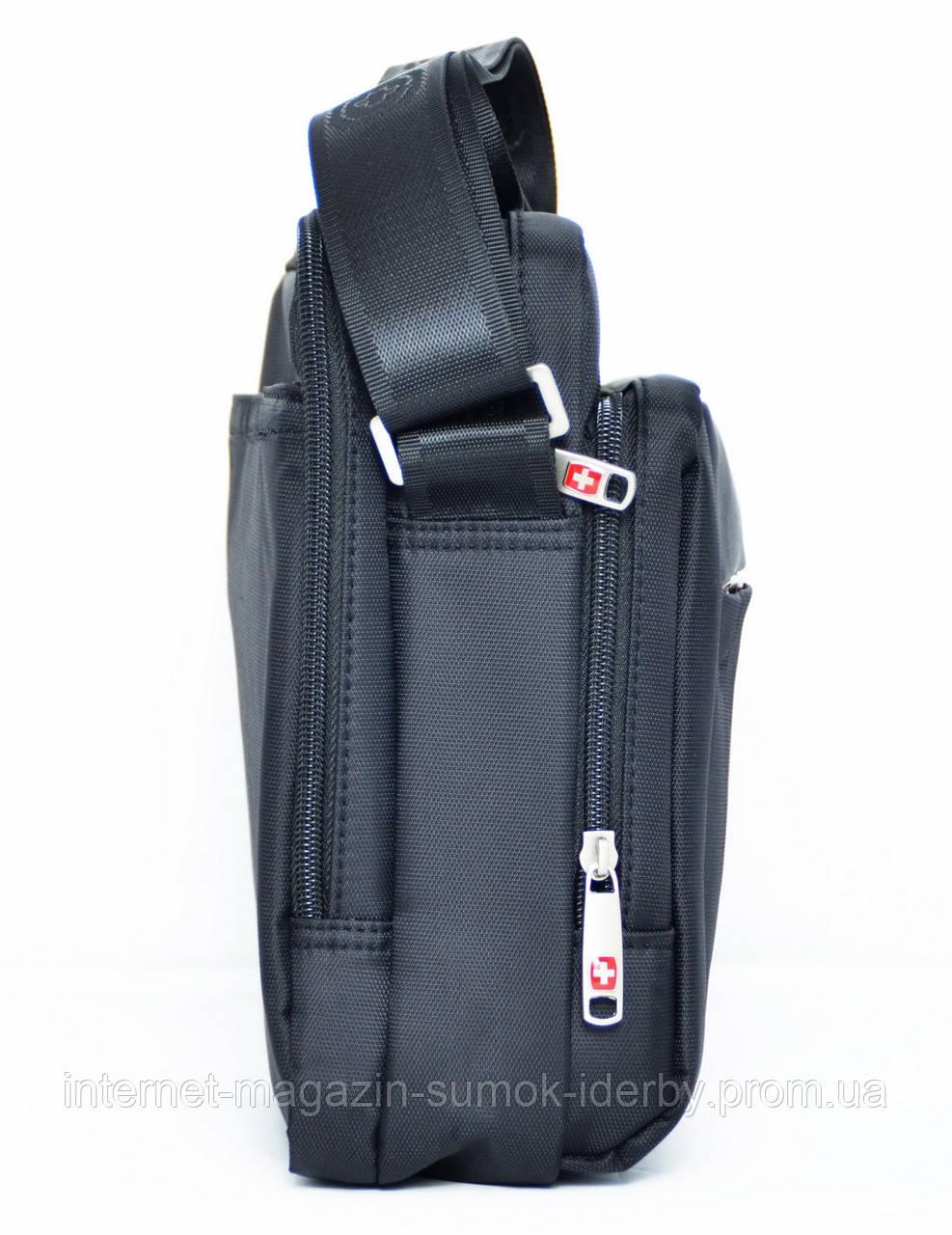 ff6c87ad Swissgear Сумка мужская планшет А5 Wenger-Noble W6605 black купить с ...