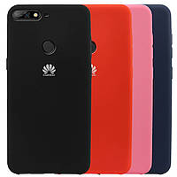 Чехол накладка Silicone case Huawei P smart 2019 / Honor 10 lite 2019